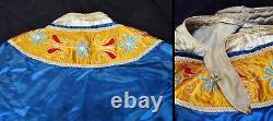 ANTIQUE Late QING DYNASTY CHINESE China CEREMONIAL ROBE with SUN FACE