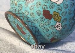A Chinese Cloisonné Gourd Vase Late Qing Dynasty