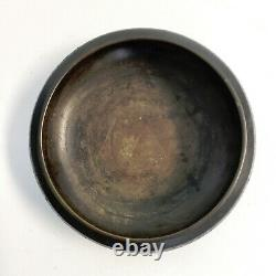 Antique Chinese BRONZE CHAMPLEVE/Cloisonné Center Bowl 8 Late 19th Century