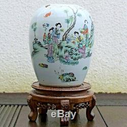 Antique Chinese Ginger Jar Late Qing / Early Republic period