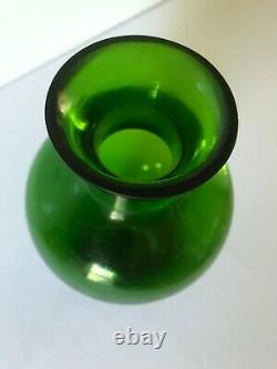 Antique Chinese Green Peking Glass Late Qing Dynasty