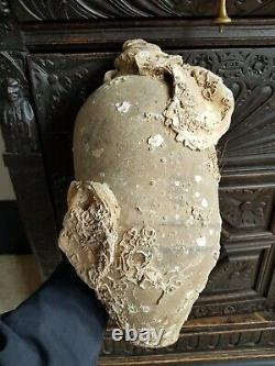 Antique-Chinese Late Tang Dynasty Amphora Vase-Shipwreck Find-circa 900A. D