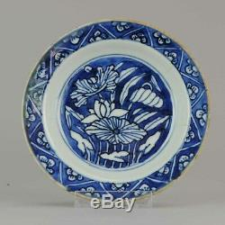 Antique Chinese Porcelain Late Ming Wanli Tianqi or Transitional Reverse