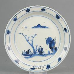 Antique Chinese Porcelain Late Ming or Transitional Ca 1600 China Litera