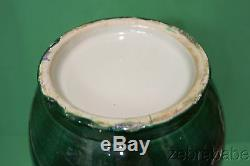 Antique Chinese Porcelain Vase Dark Emerald Green 15 Late 18th/Early 19th