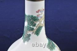 Antique Chinese Vase Lamp, late 19th century