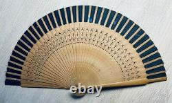 Beautiful Mixed lot of 3 Hand fans chinese, french belle epoque late 1800s