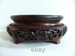 LATE 19th CENTURY / EARLY 20th CENTURY CHINESE WOOD STAND (#3)