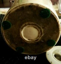 Late 18th C To Early 19th Century Large Chinese Teapot With Wax Seal