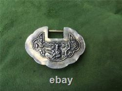 Late 19th Century Chinese Silver Charm Lock
