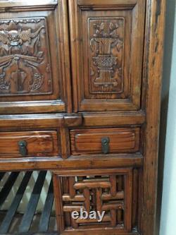 Late 19th-century Chinese Wedding Cabinet