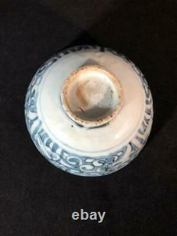 Late Ming Blue and White Chinese Porcelain Bowl