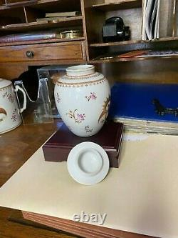 Rare Late 18th/Early 19th Century Chinese Export Porcelain Jar Gorgeous