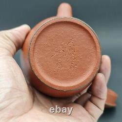Very Rare! Late19th Century Antique Chinese Yixing Zisha Red Clay Teapot