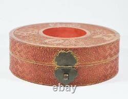 Antique Chinese Qing Mandarin Tribunal Necklace Beads Box Late 19th C