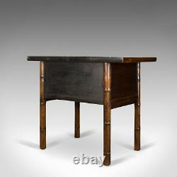 Oriental Side Table, Cabinet D'ormes Chinoises, Fin Du Xxe Siècle